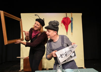 Livia Franz und Markus Maria Enggist in SO EIN DINGSDA, DA! (Foto: Roland Soldi)