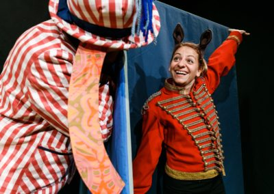 Livia Franz und Markus Maria Enggist in DAS KLEINE ICH BIN ICH (Foto: Ben Zurbriggen)